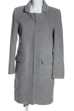 Closed Krótki płaszcz jasnoszary Melanżowy W stylu casual