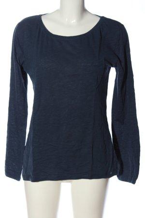 Closed Langarm-Bluse blau Casual-Look