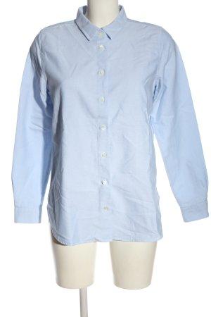 Closed Chemise à manches longues bleu moucheté style décontracté