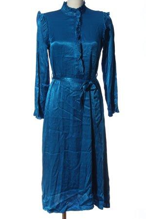Closed Vestido de manga larga azul elegante