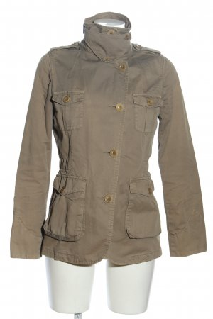 Closed Chaqueta larga gris claro look casual