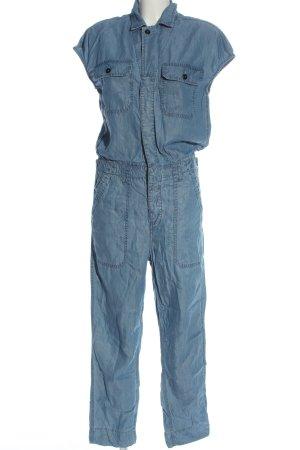 Closed Langer Jumpsuit blau Casual-Look