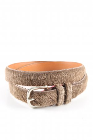 Closed Leather Belt brown leather