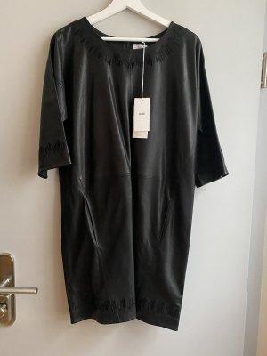 Closed Leren jurk zwart