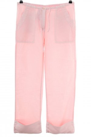 Closed Leinenhose pink Casual-Look