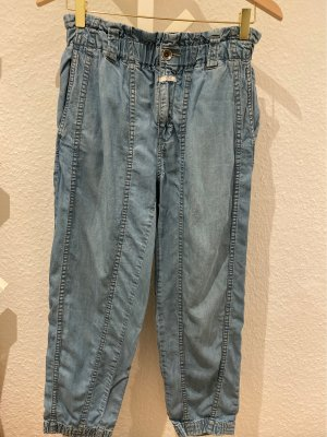 Closed Hoge taille jeans azuur Lyocell
