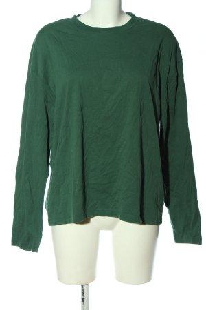 Closed Koszulka z długim rękawem zielony Elegancki