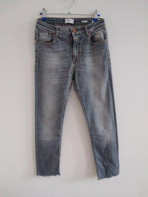 Closed Dopasowane jeansy jasnoszary-szary