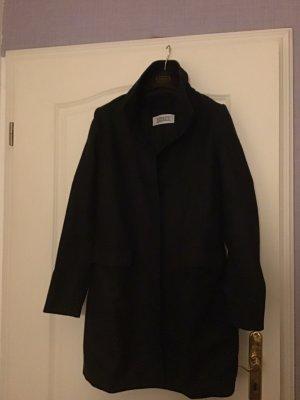 Closed Wollen jas zwart