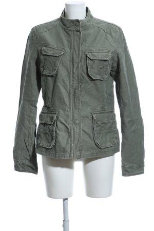 Closed Military Jacket khaki casual look