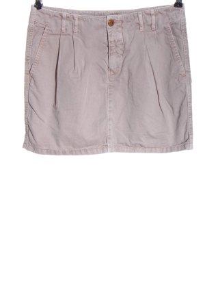 Closed Minifalda gris claro look casual
