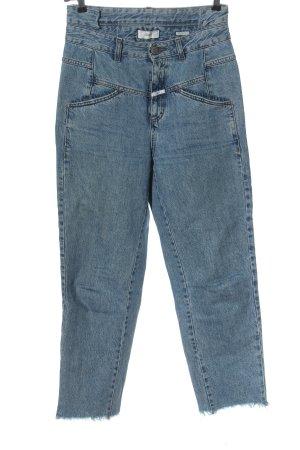Closed Mom-Jeans blau Casual-Look
