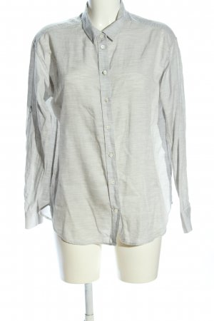 Closed Oversized Bluse hellgrau meliert Casual-Look