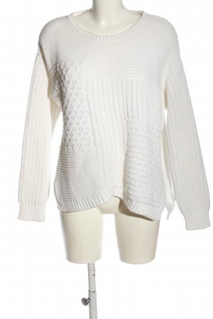 Closed Oversized Pullover weiß Casual-Look