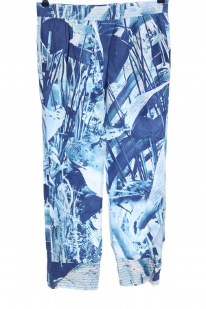 Closed Palazzo Pants blue abstract pattern casual look