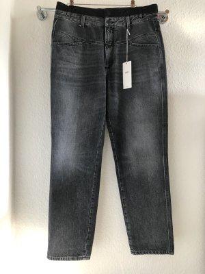 Closed Wortel jeans grijs Katoen