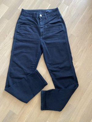 Closed Hoge taille jeans donkerblauw