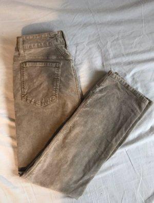 Closed Pantalon taille haute beige