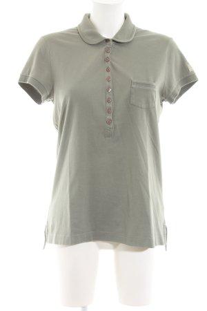 Closed Polo shirt khaki casual uitstraling