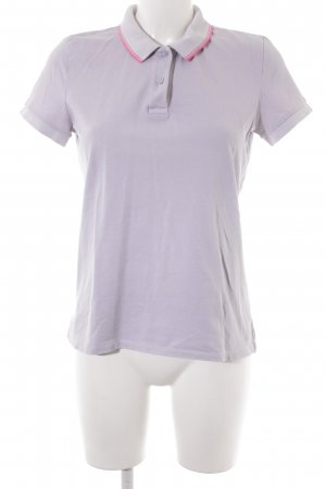 Closed Polo-Shirt grauviolett-pink Business-Look