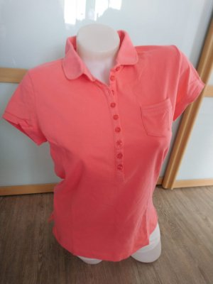 Closed Poloshirt Sweatshirt Shirt Gr.XL L Lachs rosa