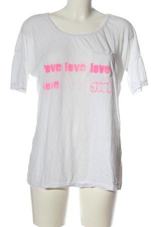Closed Camiseta estampada blanco look casual