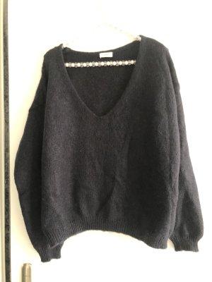 CLOSED Pullover Oversize dunkelblau