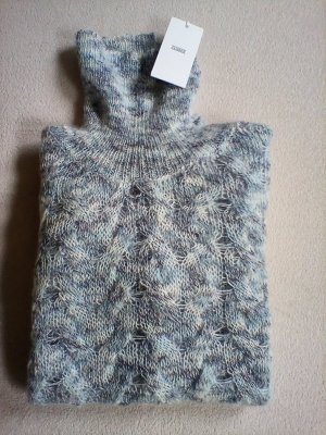 CLosed Pullover Strick Gr. M Wolle Blau Neu