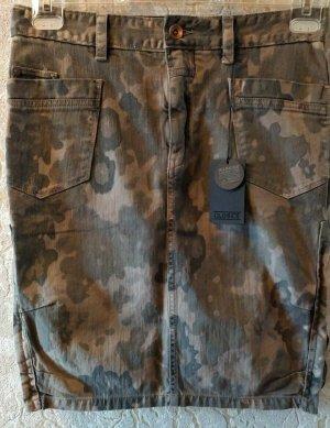Closed Jeansowa spódnica khaki