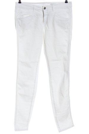 Closed Jeans cigarette blanc style décontracté