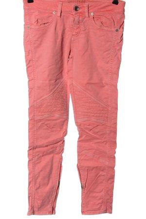 Closed Jeans a sigaretta rosa stile casual