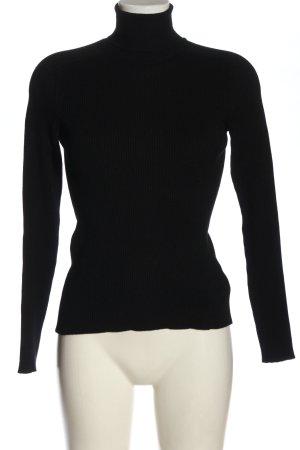 Closed Sweter z golfem czarny W stylu casual