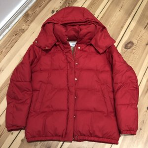 Closed Winter Jacket red