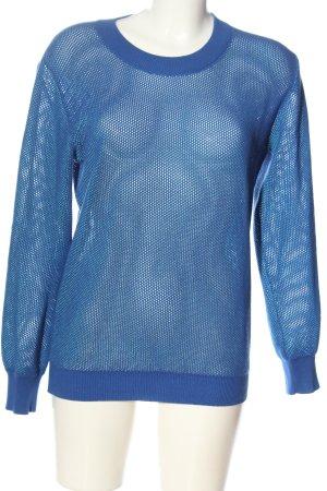 Closed Rundhalspullover blau Casual-Look