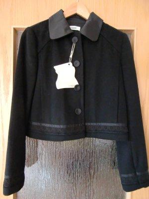 CLOSED schwarze Jacke Blazer Gr. 36 wie NEU