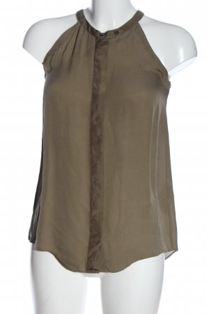 Closed Silk Top brown casual look