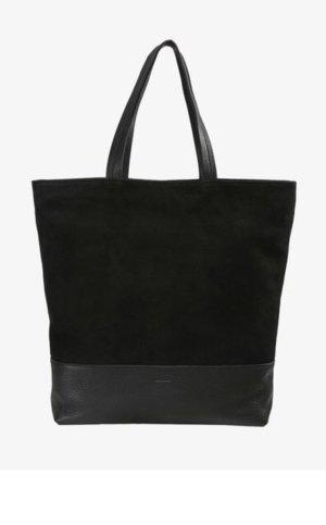 Closed Shopping Bag black