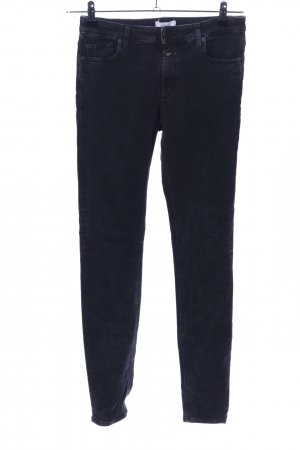 Closed Vaquero skinny negro look casual
