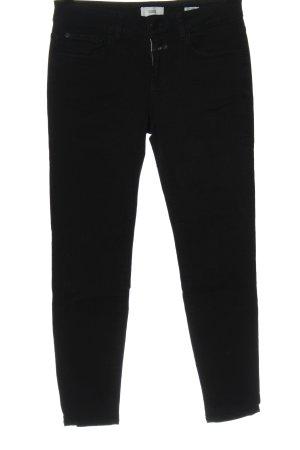 Closed Skinny Jeans schwarz Elegant