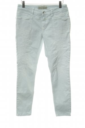 Closed Skinny Jeans babyblau Destroy-Optik