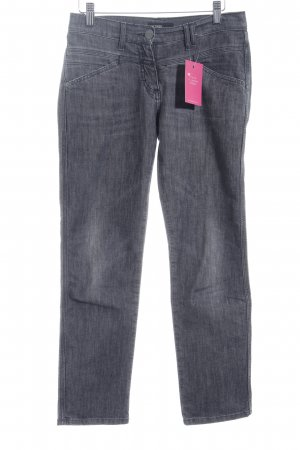 Closed Skinny Jeans grau Used-Optik