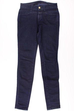 Closed Skinny Jeans Größe W27 blau aus Baumwolle