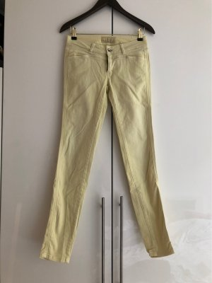 Closed Skinny Jeans pastell gelb 26