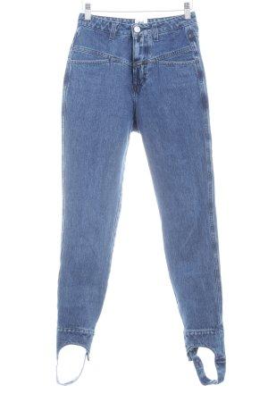 Closed Skinny Jeans stahlblau Casual-Look