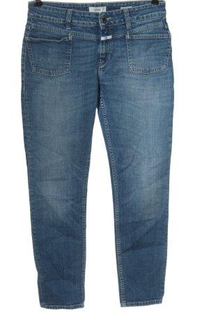 Closed Dopasowane jeansy niebieski Elegancki