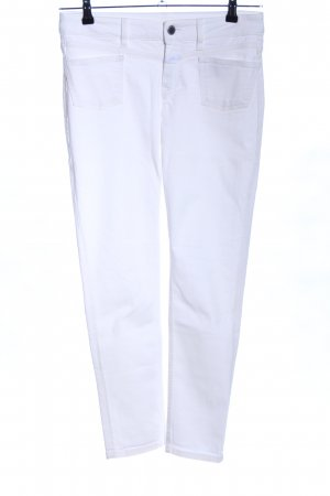 Closed Jeans slim fit bianco stile casual