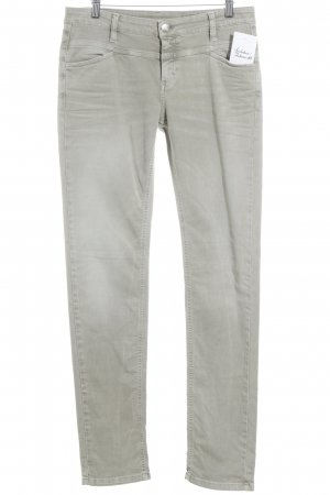 Closed Slim Jeans green grey simple style