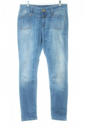 Closed Slim Jeans stahlblau Casual-Look