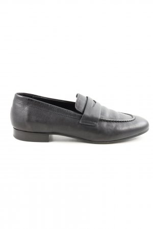 """Closed Slippers """"Cissy Loafers"""" black"""