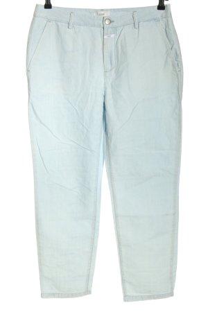 Closed Pantalon chinos bleu style décontracté